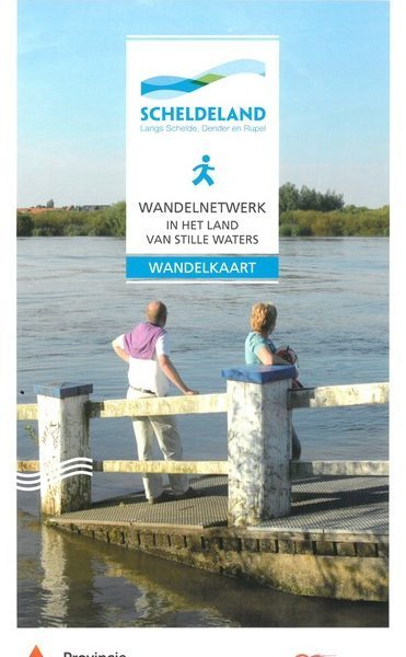 Wandelkaart in het land van stille waters
